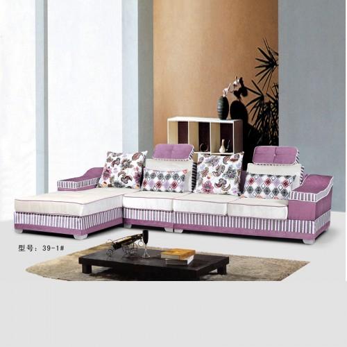 客厅布艺沙发品牌 时尚转角沙发定制39-1#