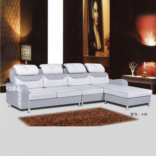 厂家直销现代休闲沙发 布艺转角沙发 43#