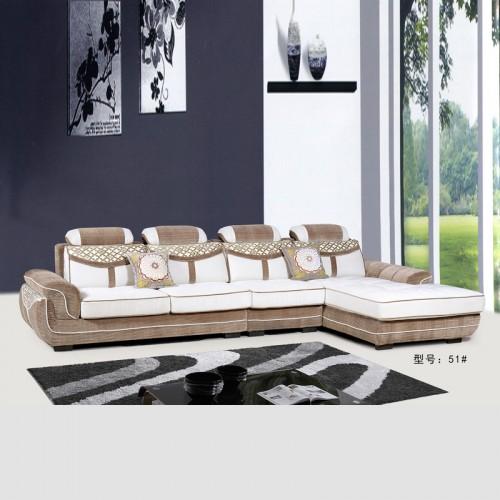 拆洗L型布沙发 大小户型沙发 客厅转角沙发 51#