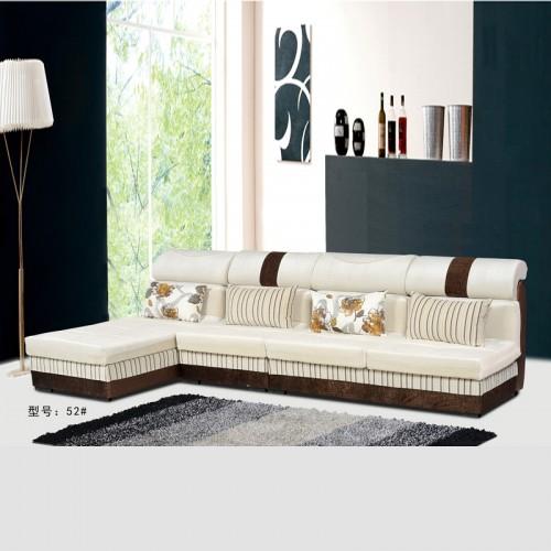 厂家定做布沙发 客厅转角沙发 52#