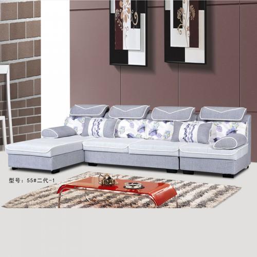 客厅布艺沙发型号 客
