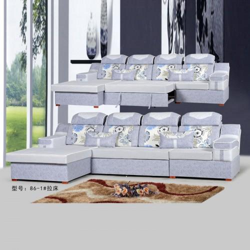 专业定制布艺沙发 客厅多功能沙发拉床 86-1#