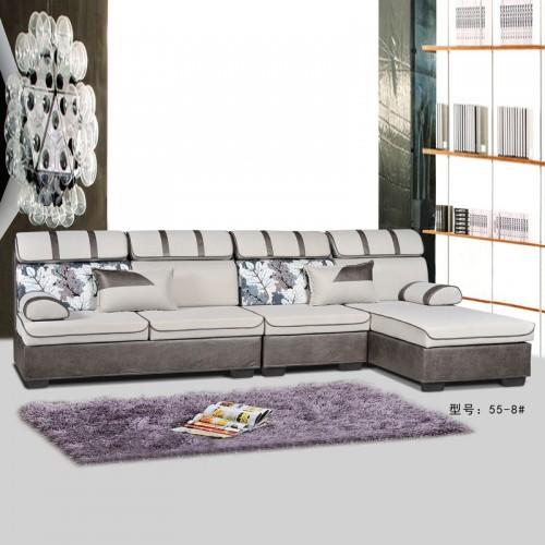 专业生产客厅布艺沙发 55-8#