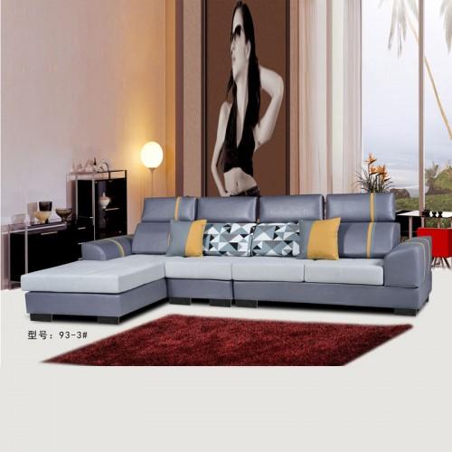 现代客厅沙发 可拆洗布艺沙发 93-3#