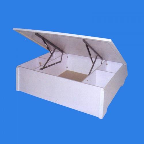 卧室密度板床箱