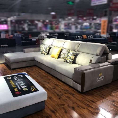 专业生产布艺转角沙发 客厅休闲沙发 331#