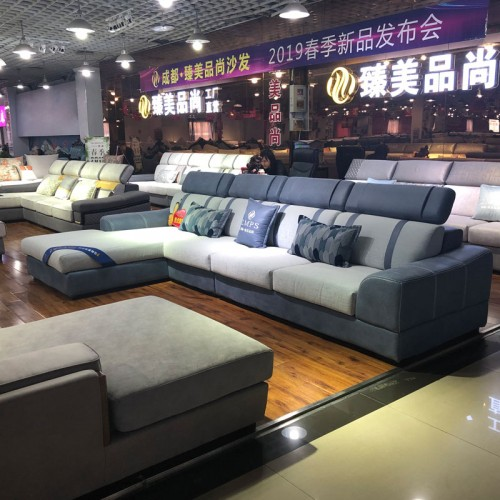 厂家直销布艺转角沙发 小户型沙发  134#