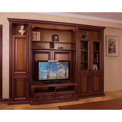 德洛尼高端实木电视柜
