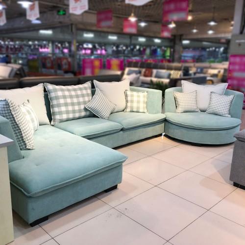 新款特价小户型客厅布艺组合沙发 95#