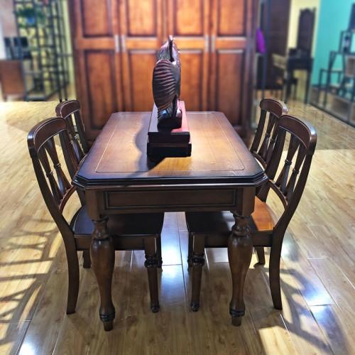 小户型美式乡村风格餐厅桌椅 01#