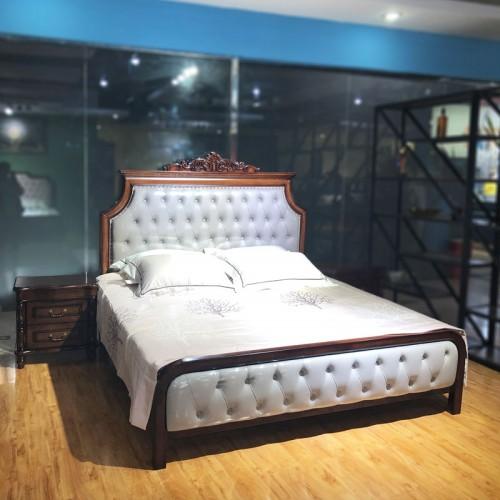 双人床生产厂家 美式卧室家具 05#