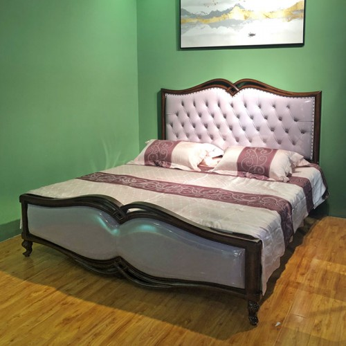定制美式双人床 卧室大床家具  08#