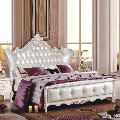 高端欧式卧室家具 双