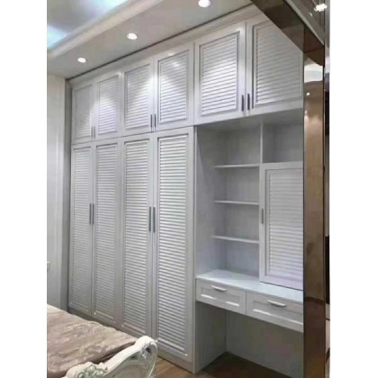 全铝家具 全铝储物开门衣柜组合