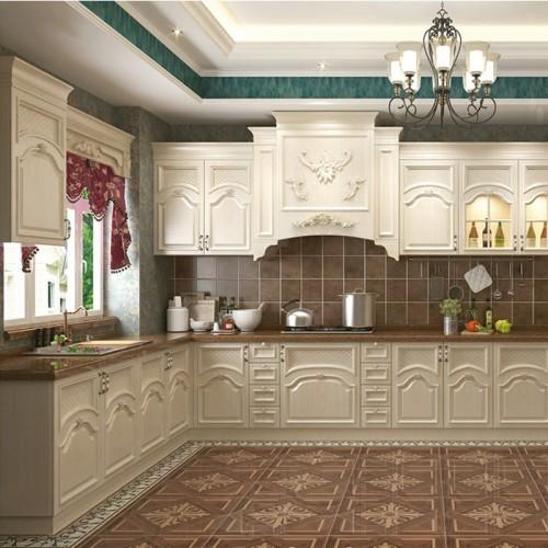 开放式厨房私人定制家具实木橱柜DLN-1021