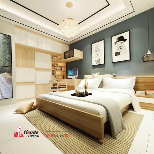 板式全屋定制厂家直销  小户型卧室家具私人定制08