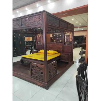 豪华卧室床