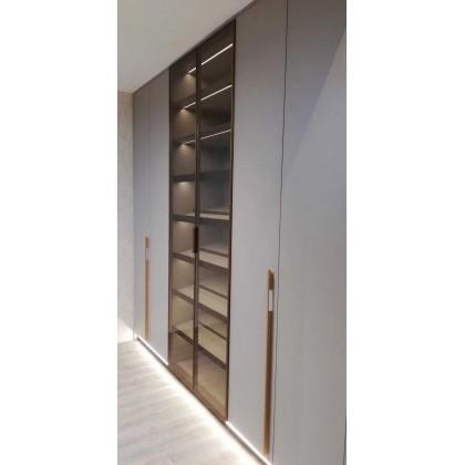 全铝家具 全铝现代简约平开门衣柜