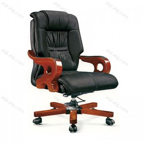 真皮办公班椅舒适经理