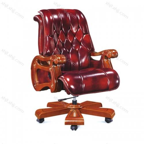 总裁真皮舒适大班椅定