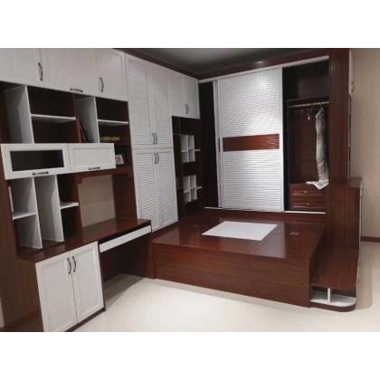 全铝家居 全铝榻榻米书桌一体式家具