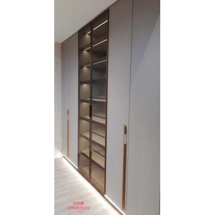 全铝家具 全铝卧室衣橱衣柜