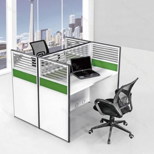 现代简约办公室屏风职员办公桌 PF-01