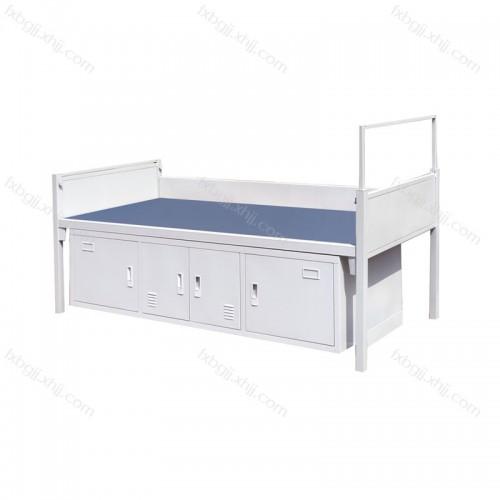 学生员工宿舍带柜子单人床 DRC-15