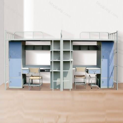 公寓床学生宿舍床上床下桌 GYC-01