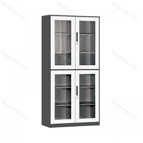 办公室上下玻璃对开柜 文件柜 BBTS-01
