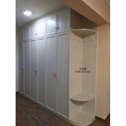 全铝家具 全铝现代简约衣橱 衣柜