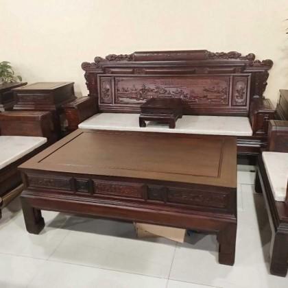 紫檀木制造沙发7件套