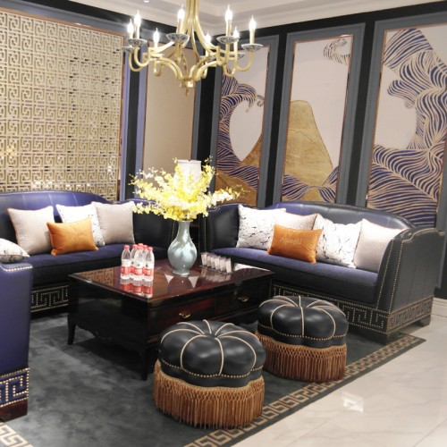别墅奢华组合沙发SAM-0040