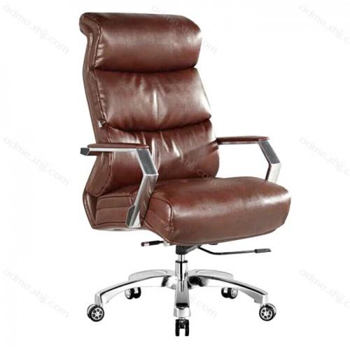 真皮转椅品牌 老板办公椅批发24