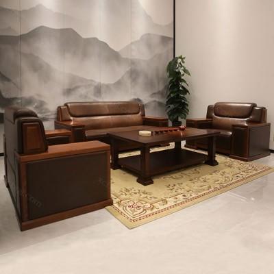 商务办公沙发供应商 会客休闲办公沙发 05