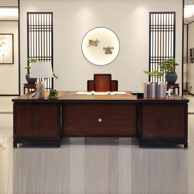 總裁老板辦公桌廠家 油漆班臺桌促銷價格10