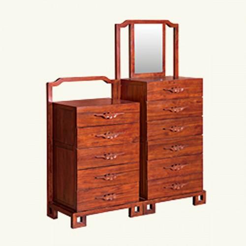 新中式实木斗柜储物柜