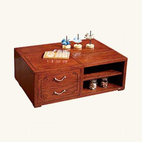 家用客厅新中式实木茶