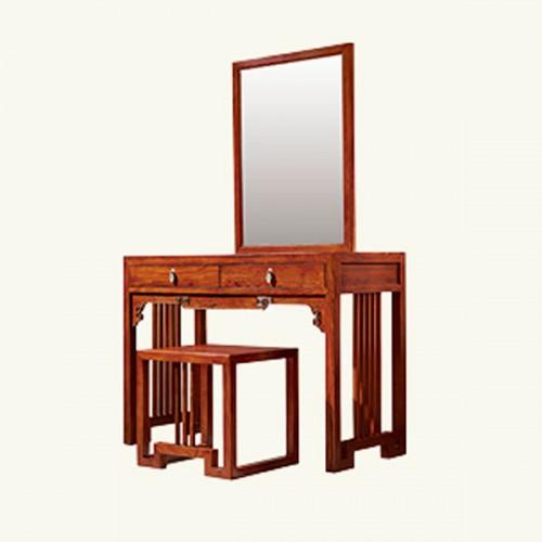 新中式简约卧室梳妆台