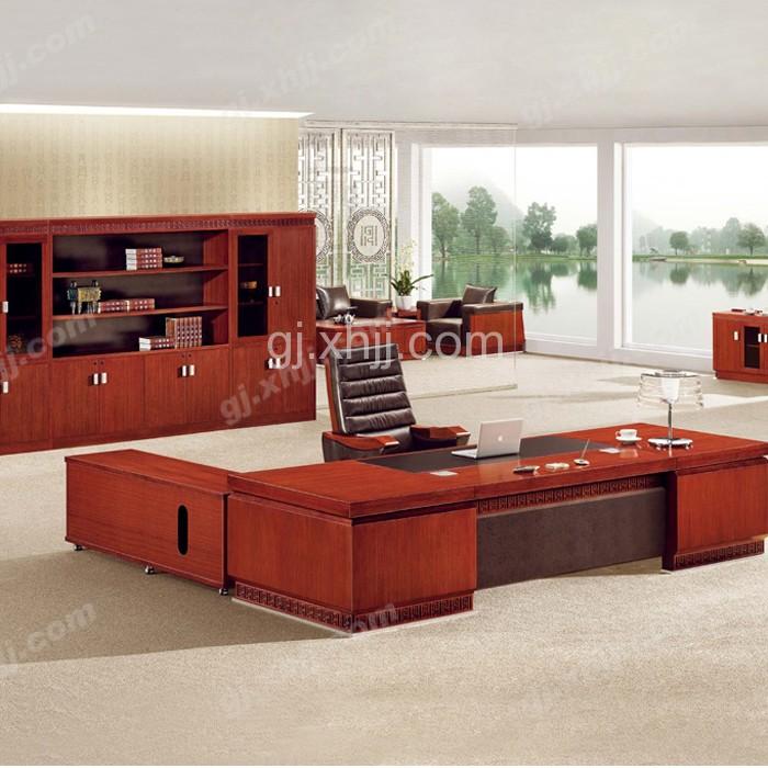 办公家具老板油漆大班台办公桌