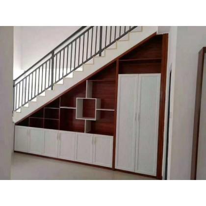 全铝家居 全铝厂家定制楼梯柜