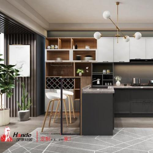 简约美式厨房家具定制 整体橱柜定制 08#