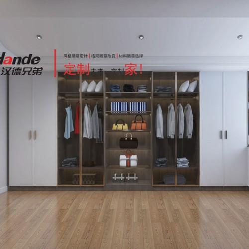 现代北欧风格卧室家具 整体衣柜定制 12#