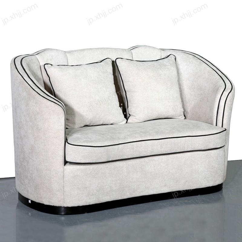 巴诺贝尔酒店家具 休闲皮质沙发 08#