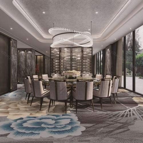 酒店餐厅高档地毯厂家2F7431G01