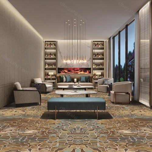 酒店会所公共区域地毯3N2634G01