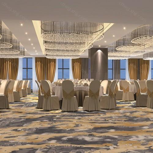 酒店会所餐厅区域地毯R5741G01