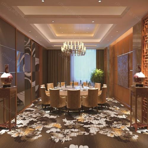 酒店餐厅包房地毯生产5Q579G02