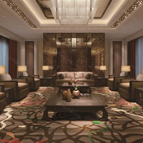 会所酒店休闲区地毯3C4344G01