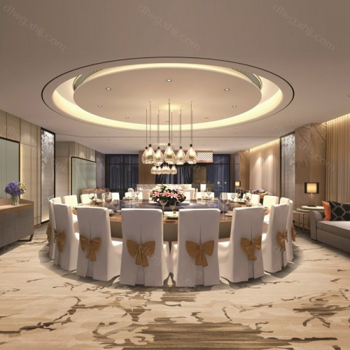 酒店餐厅地毯1Q3004G01